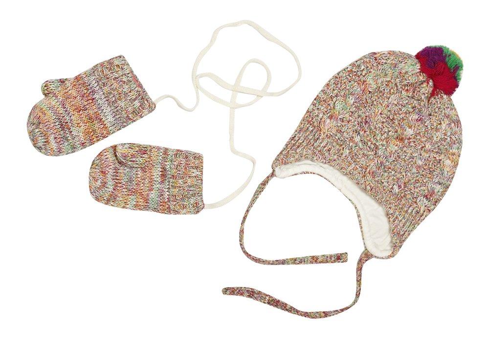 Комплект: шапка, варежки 328033
