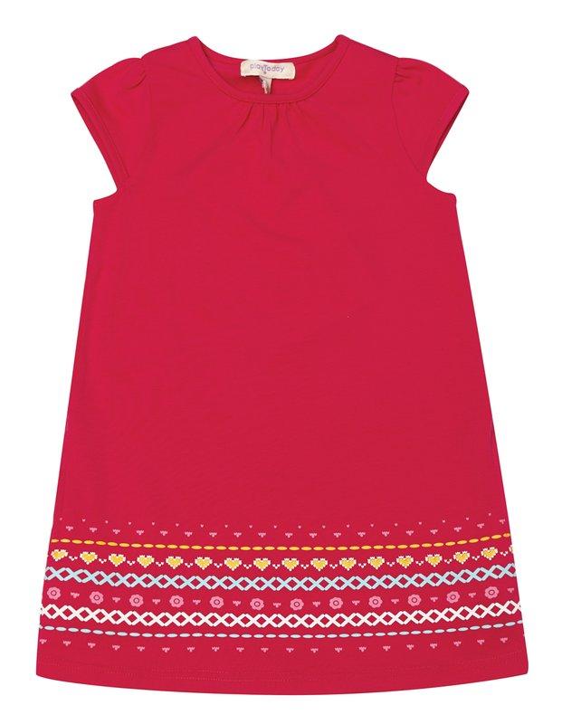 Комплект: платье, водолазка 332100