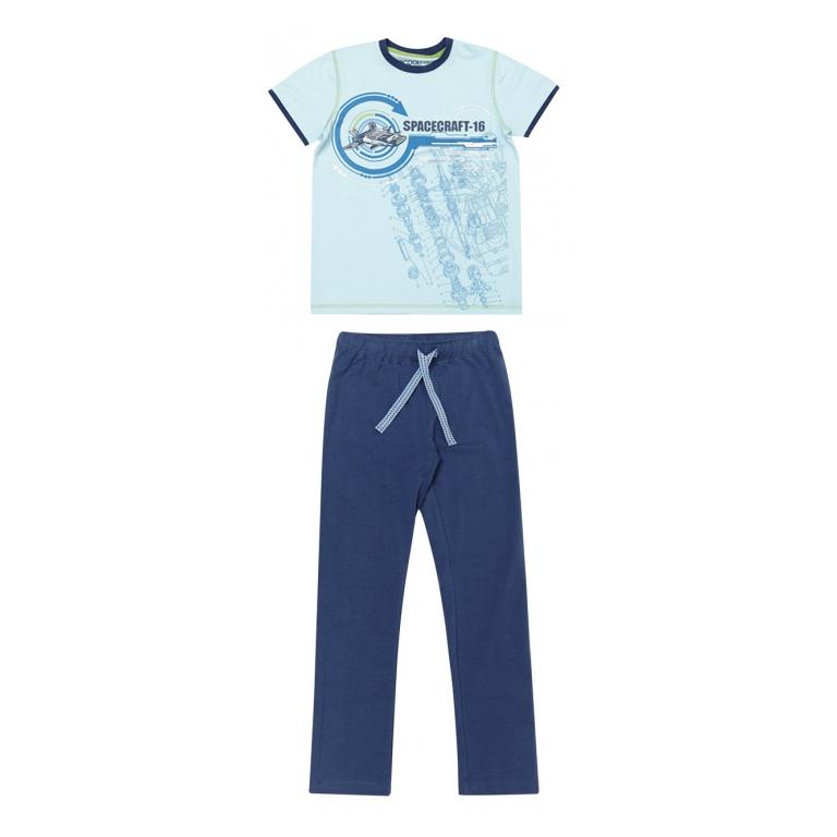Комплект: футболка с короткими рукавами, брюки 333095