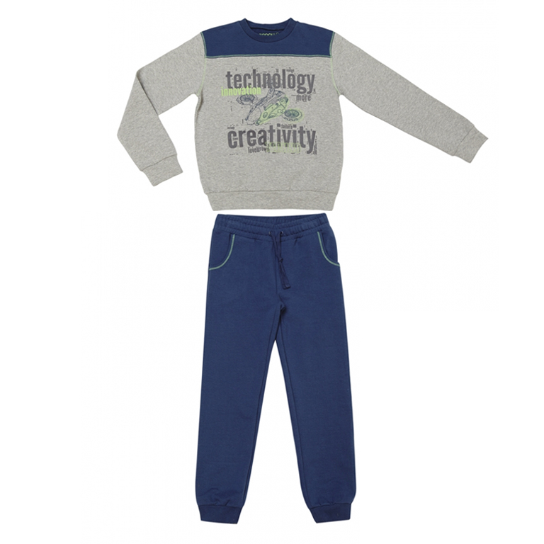 Комплект: футболка с длинными рукавами, брюки 333096