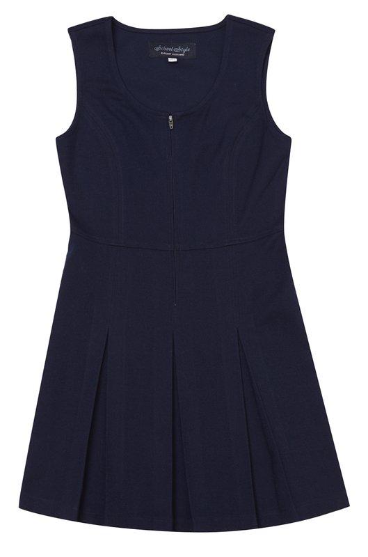 Сарафан  темно-синий 334004