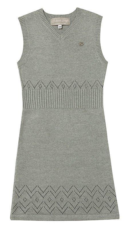 Сарафан  серый 334016