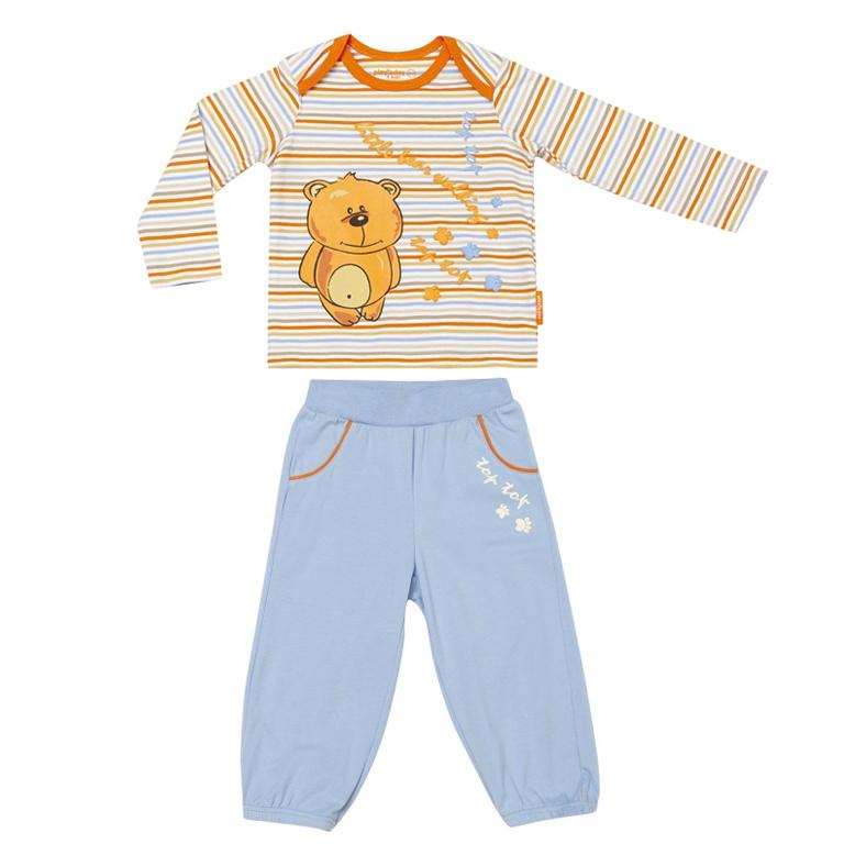 Комплект: футболка с длинными рукавами, брюки 337022