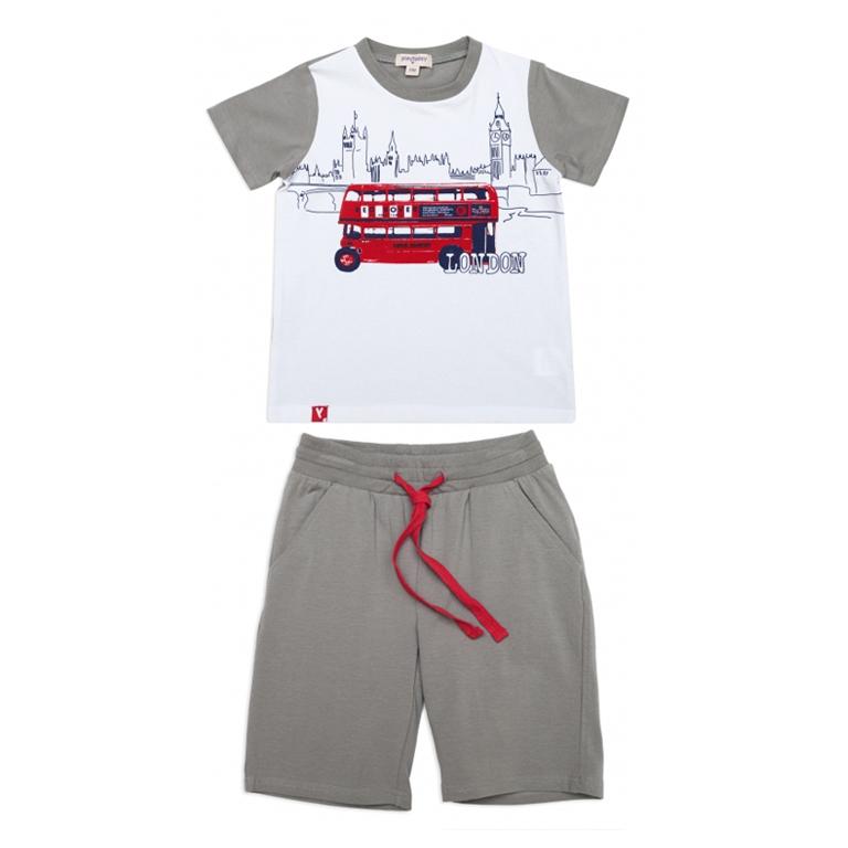 Комплект : футболка, шорты 341024