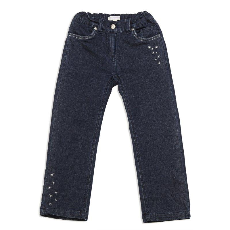 Брюки  джинсовые 342134
