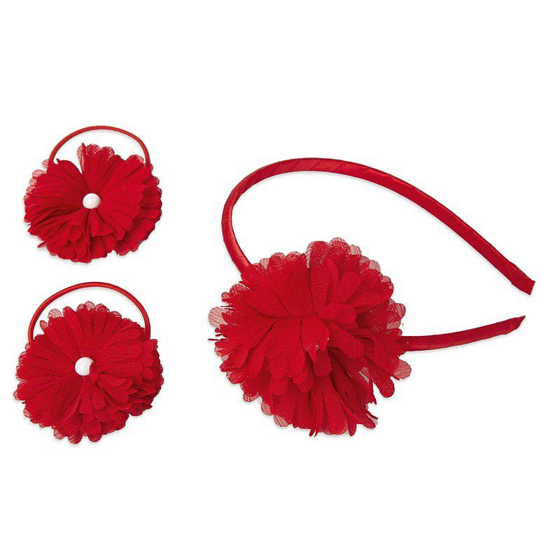 Комплект аксессуаров для волос: резинки - 2 шт., ободок 342707