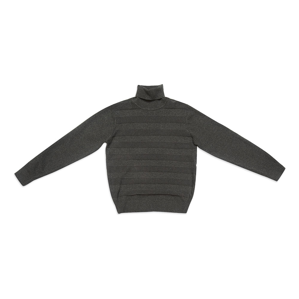 Джемпер  темно-серый 343010