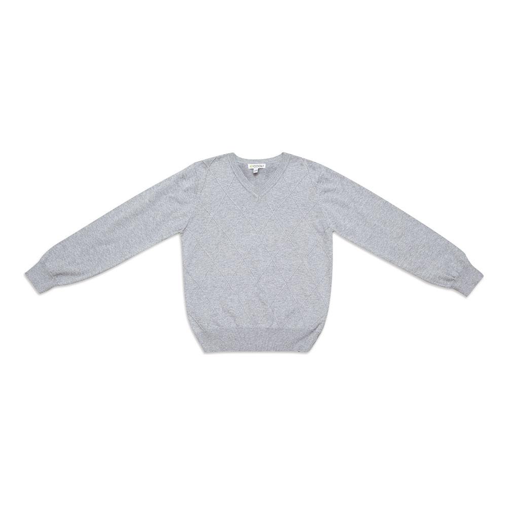 Джемпер  светло-серый 343011