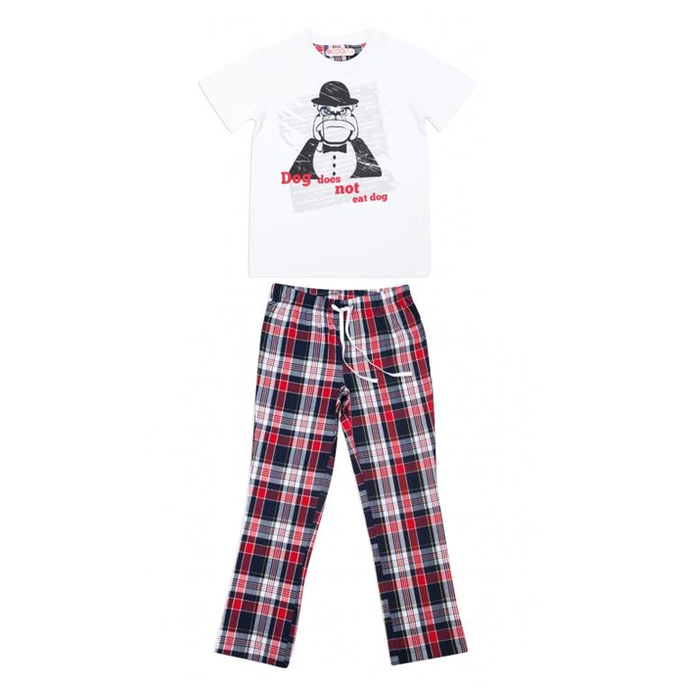 Комплект : футболка, брюки текстильные 343031