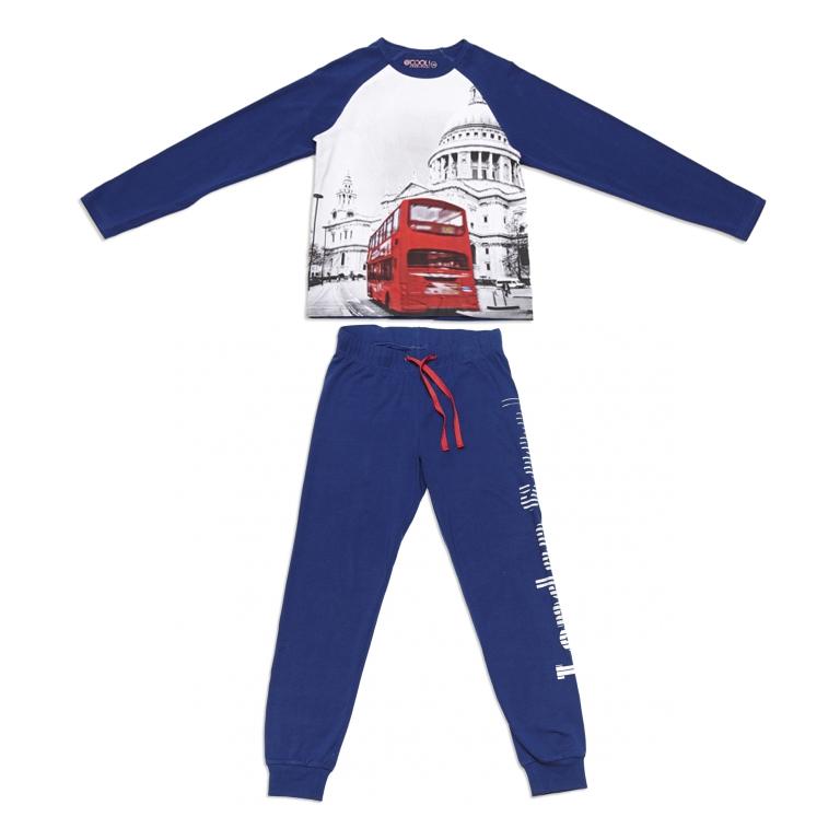 Комплект : футболка с длинным рукавом, брюки 343032