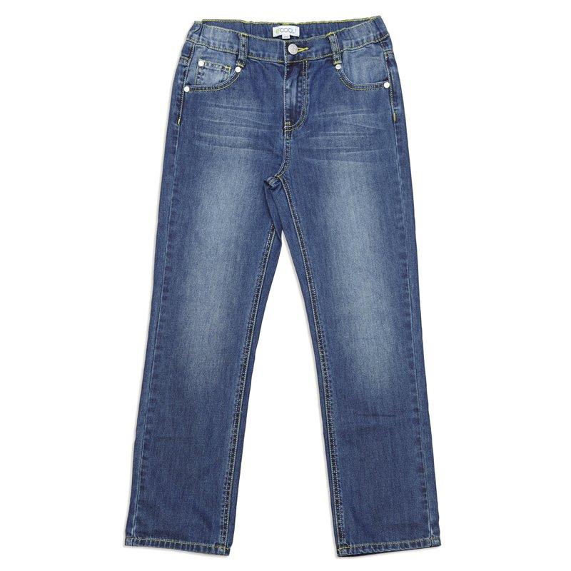 Брюки текстильные джинсовые 343063