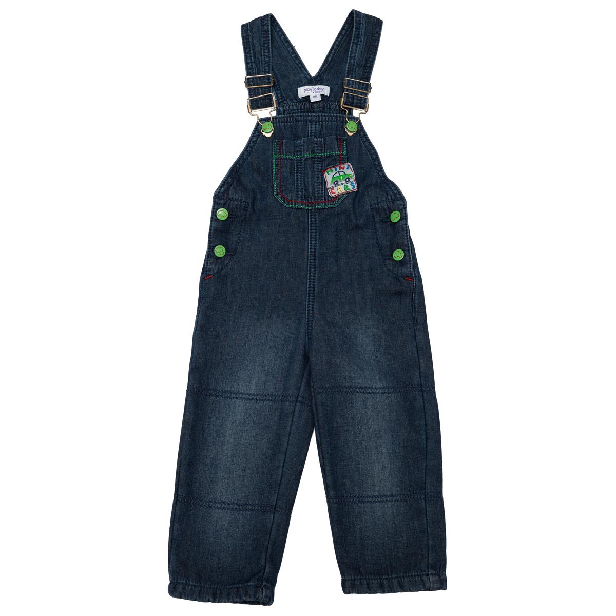 Полукомбинезон  джинсовый 347010