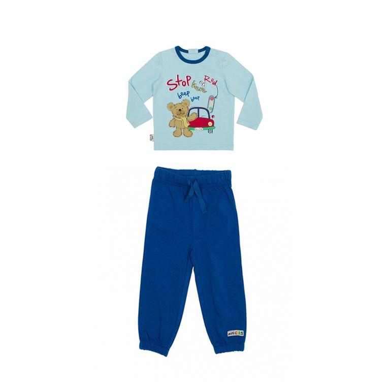 Комплект  :(футболка с длинным рукавом, брюки 347032