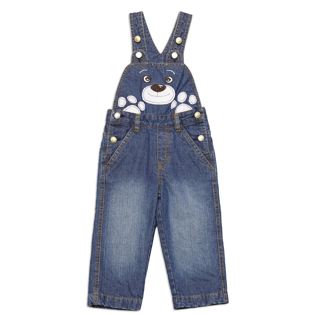 Полукомбинезон  джинсовый 347049