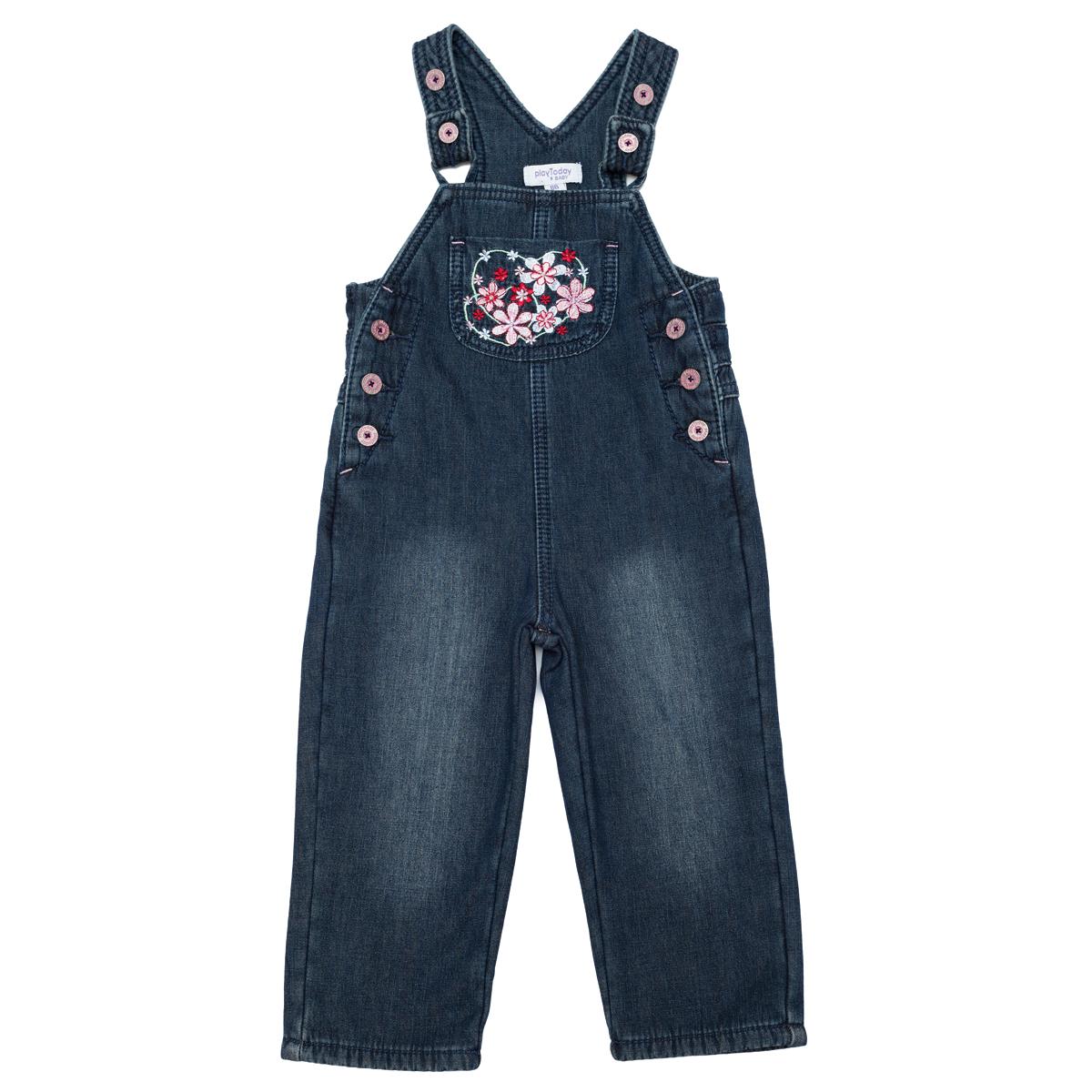 Полукомбинезон  джинсовый 348010