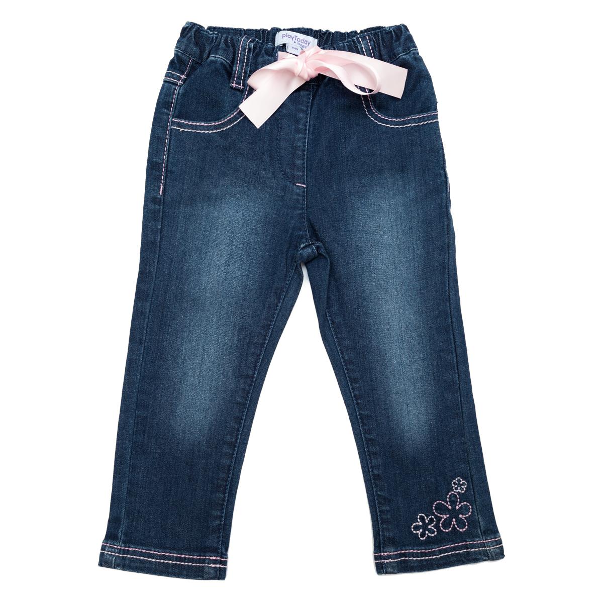 Брюки  джинсовые 348013