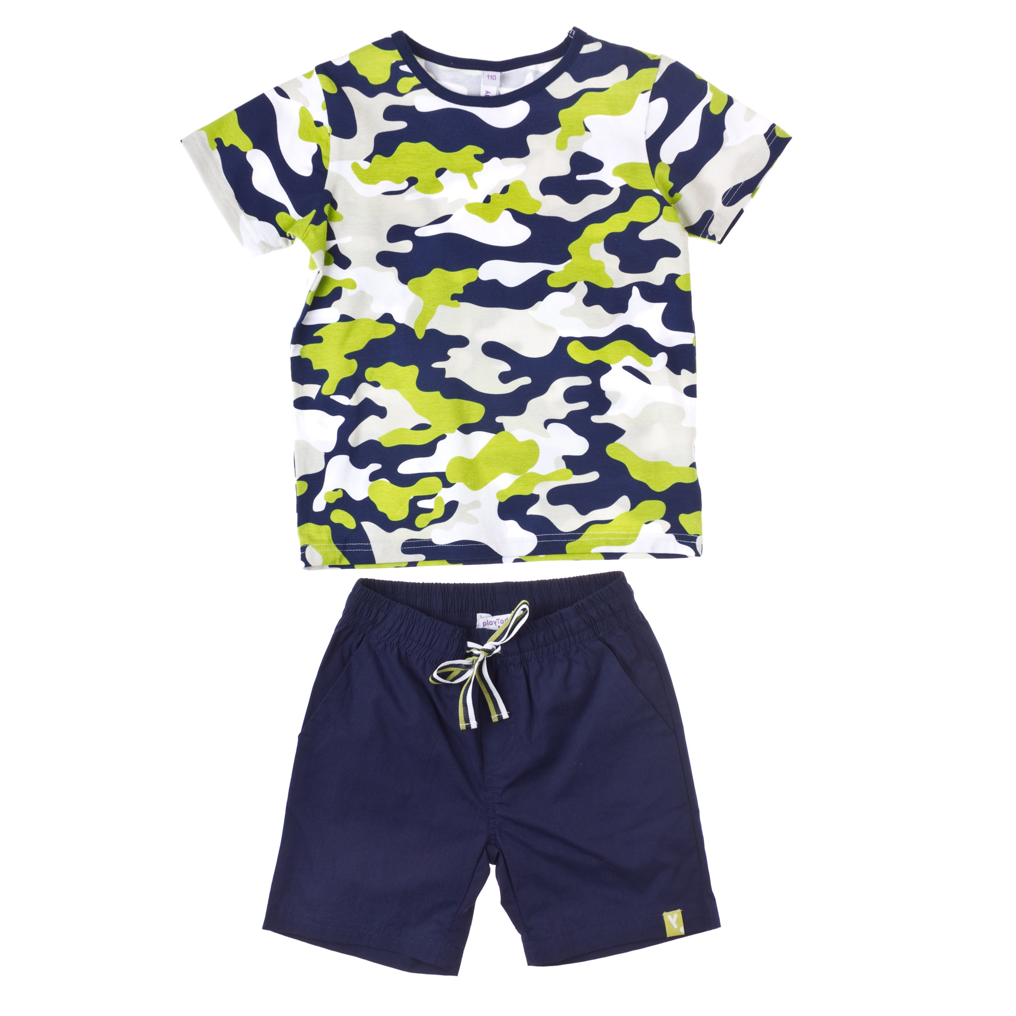 комплект футболка, шорты (текстиль+ ) 351069