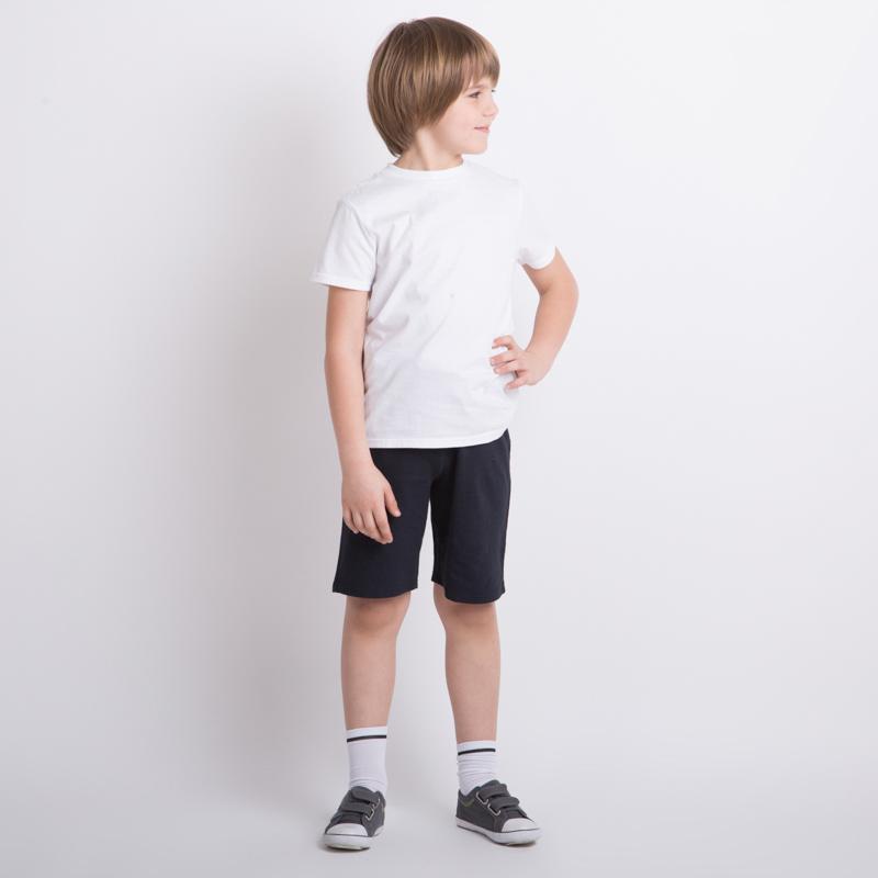 Комплект трикотажный для мальчиков: фуфайка (футболка), шорты 353027