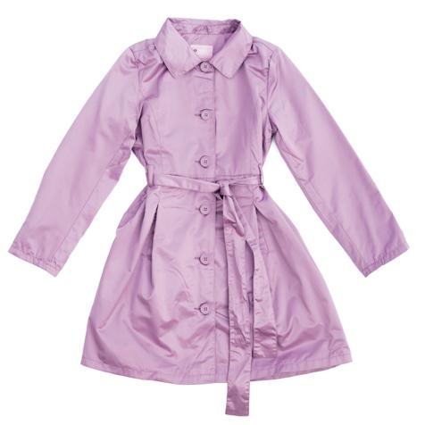 Плащ текстильный для девочек 354002