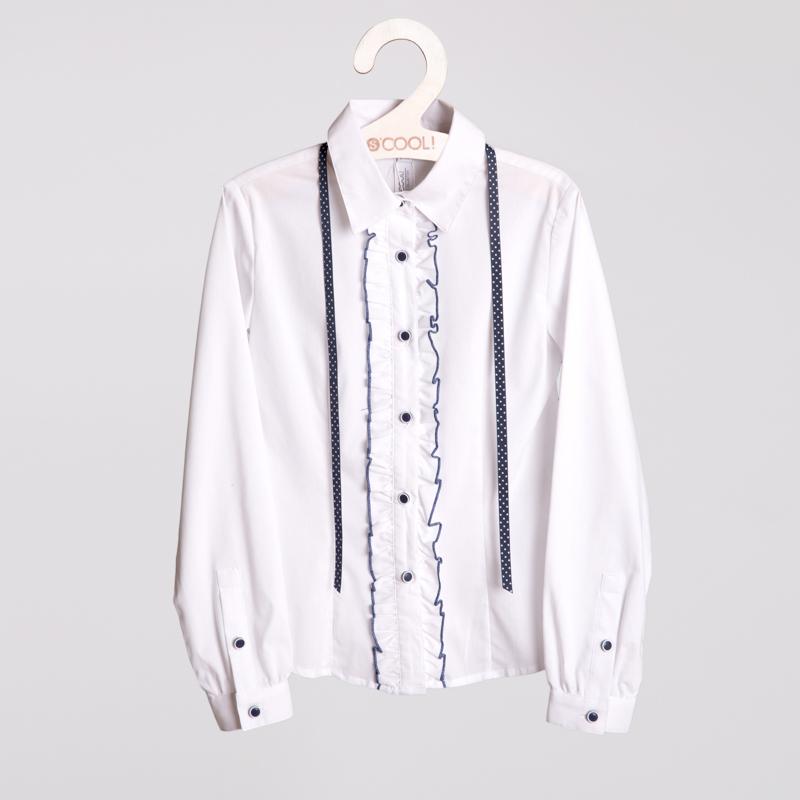 Блузка текстильная для девочек 354010