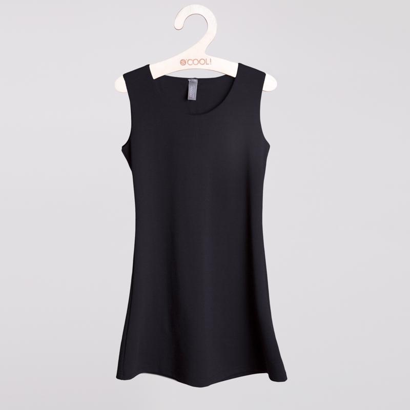 Сарафан текстильный для девочек  черный 354020