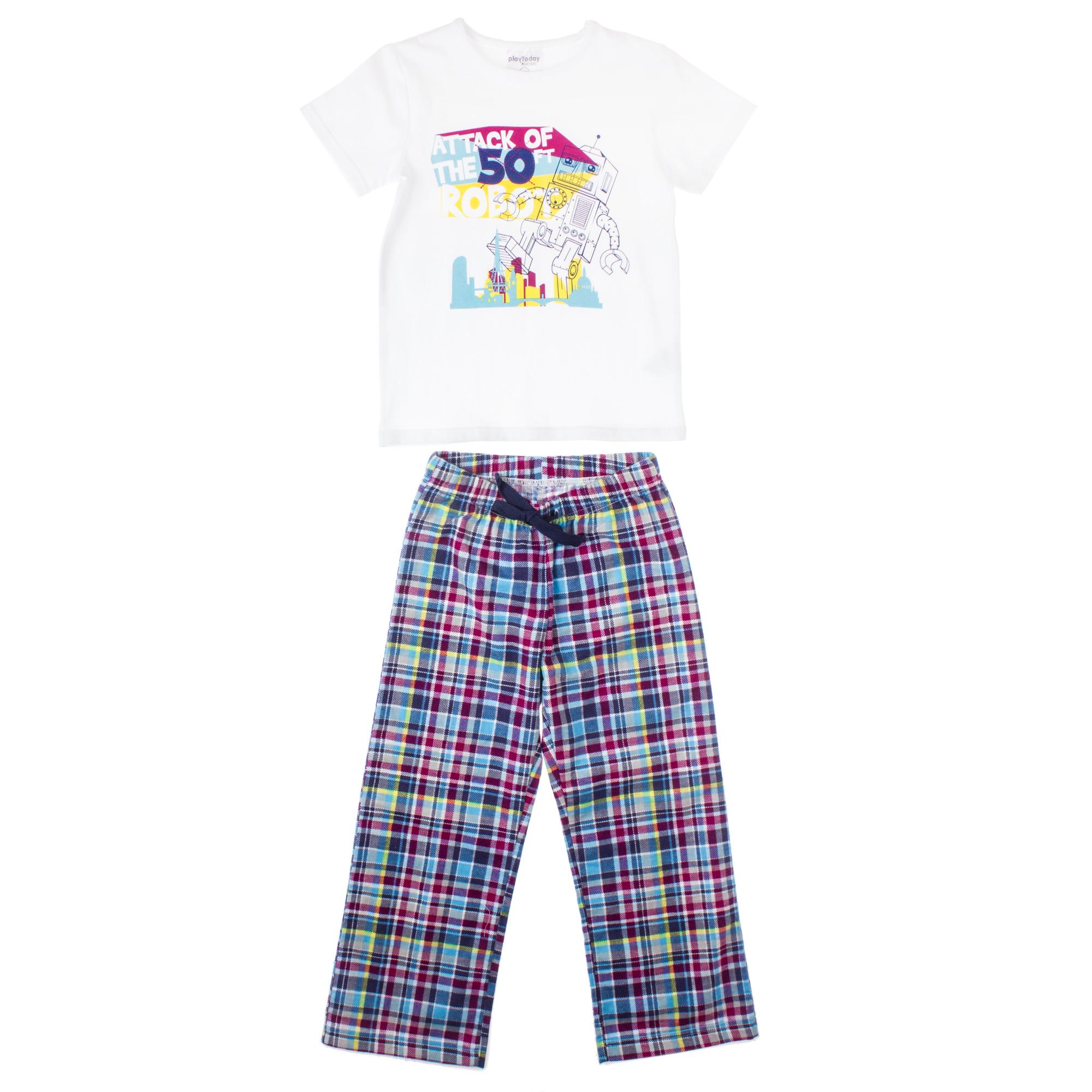 Комплект футболка, брюки (текстиль+ ) 355001