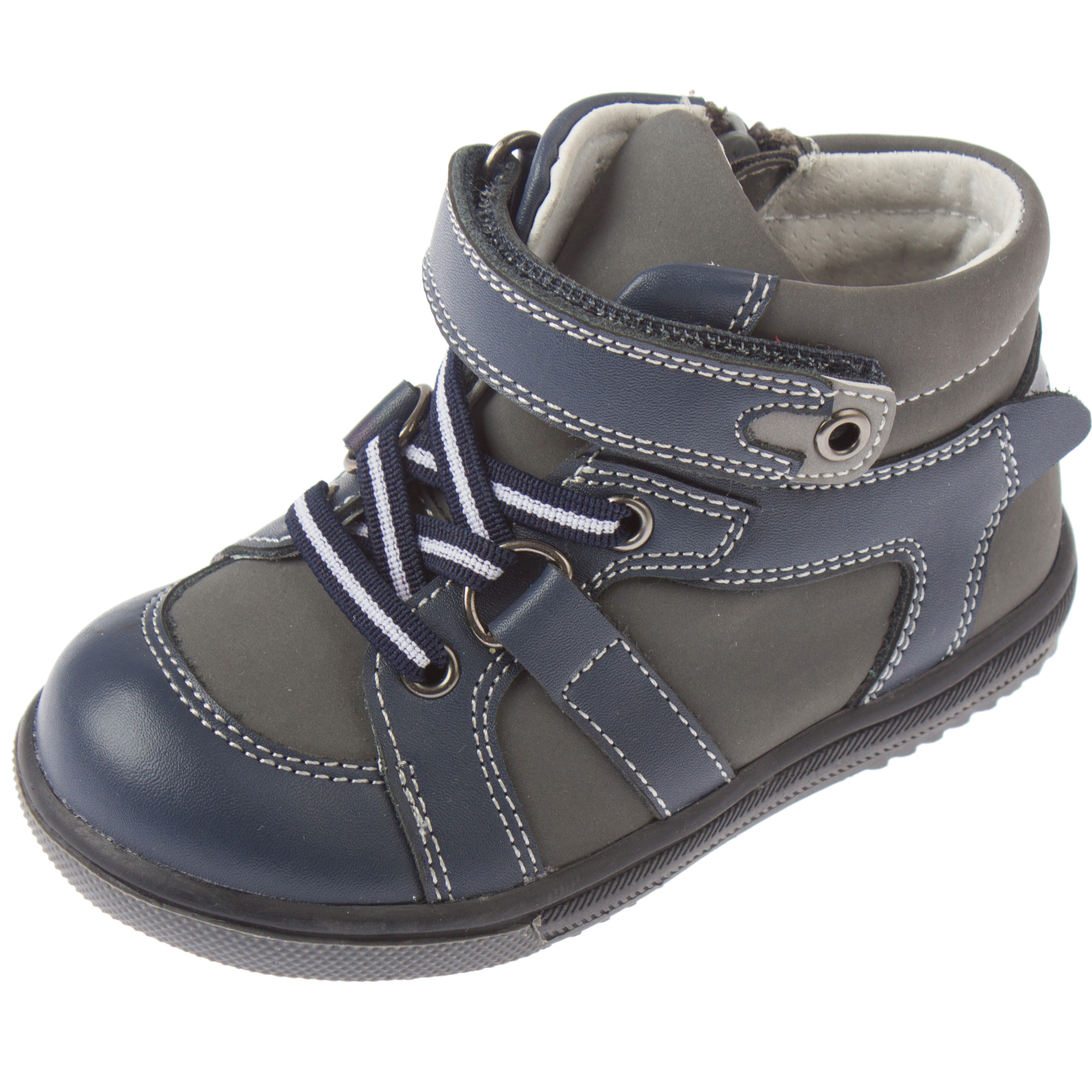 46d90e1c8 358211 Серые ботинки для девочки PlayToday Baby PlayToday Baby ...