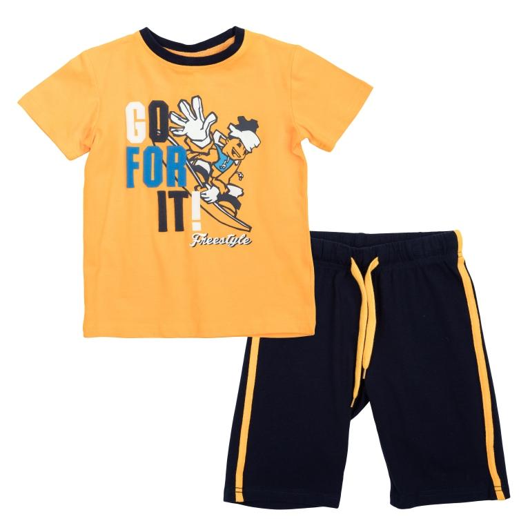 Комплект:футболка, шорты 360004