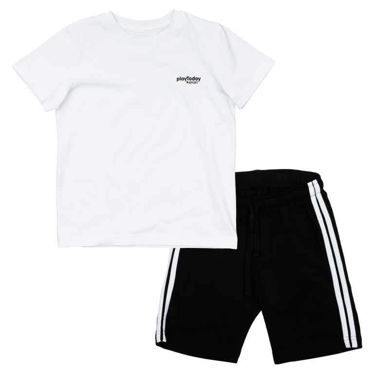 Комплект:футболка, шорты 360005