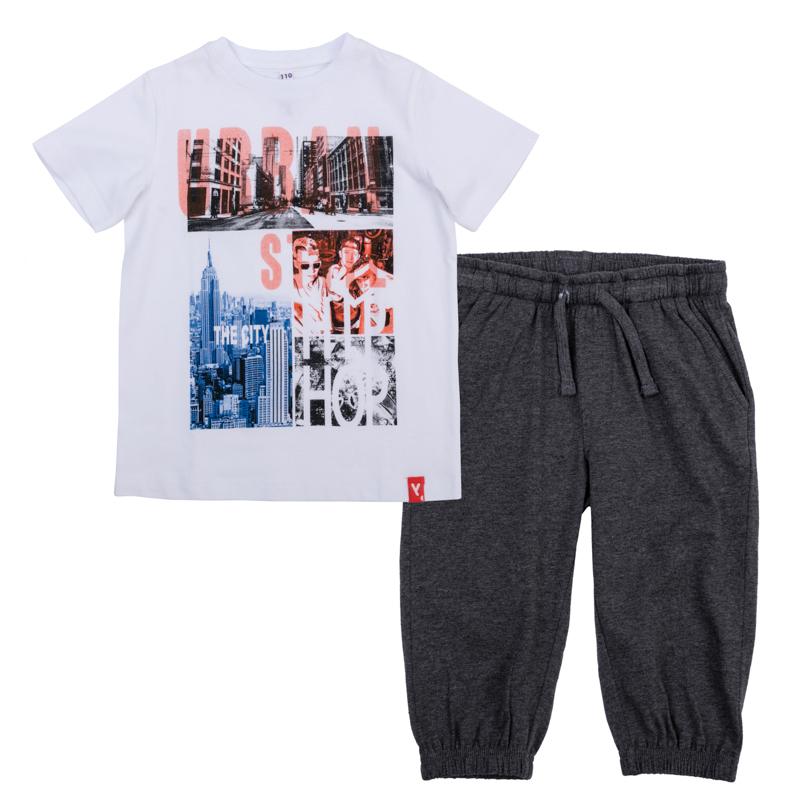 Комплект: футболка, бриджи 361124