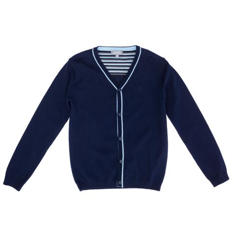 Кардиган  темно-синий 363007