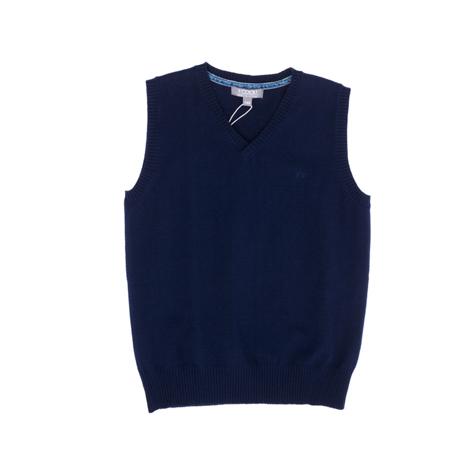 Жилет  темно-синий 363015
