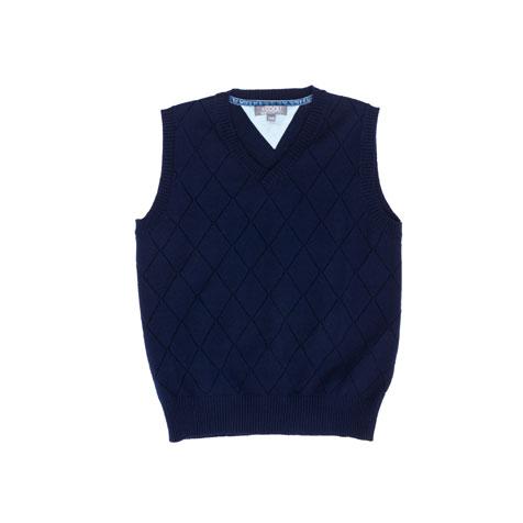 Жилет  темно-синий 363018