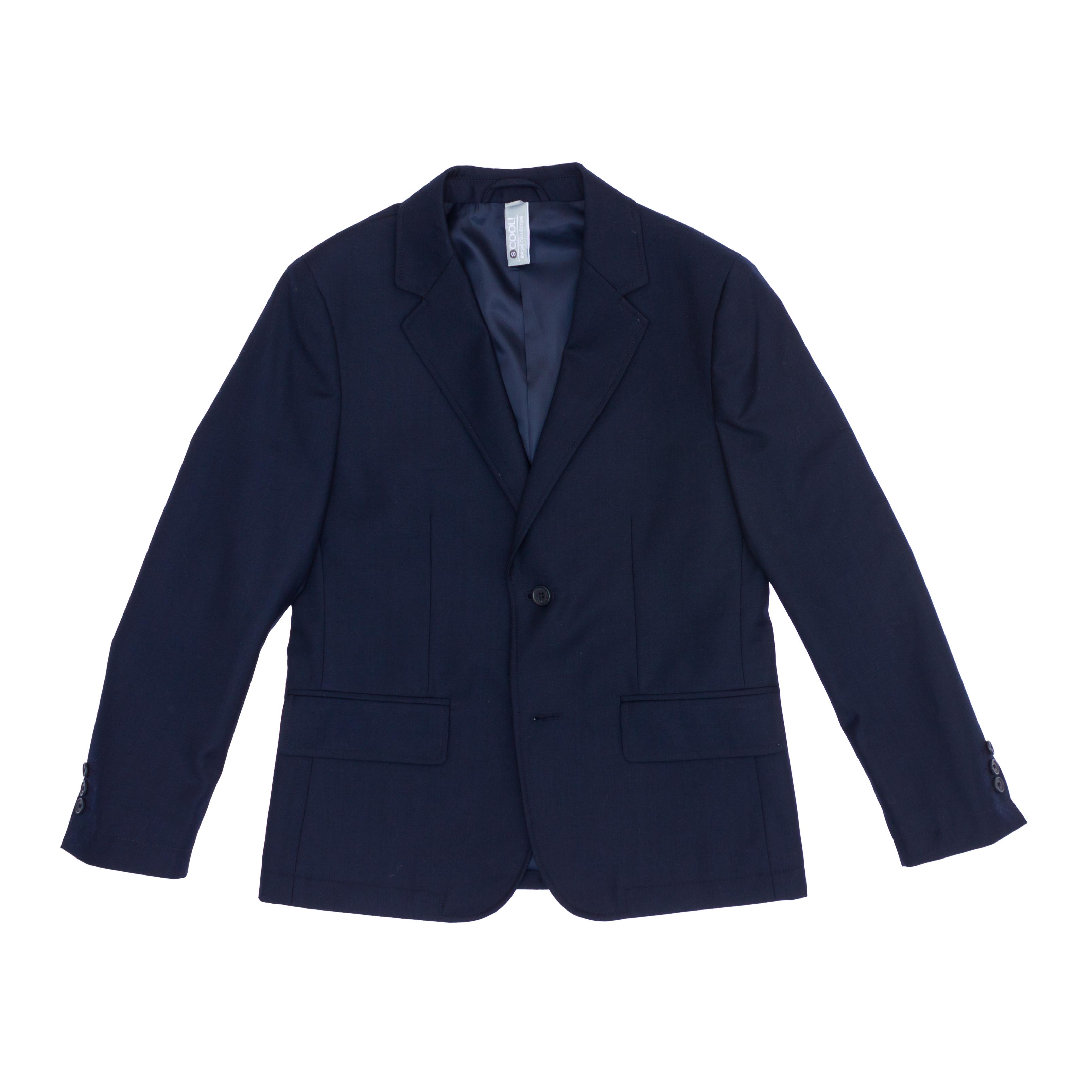 Пиджак  темно-синий 363019