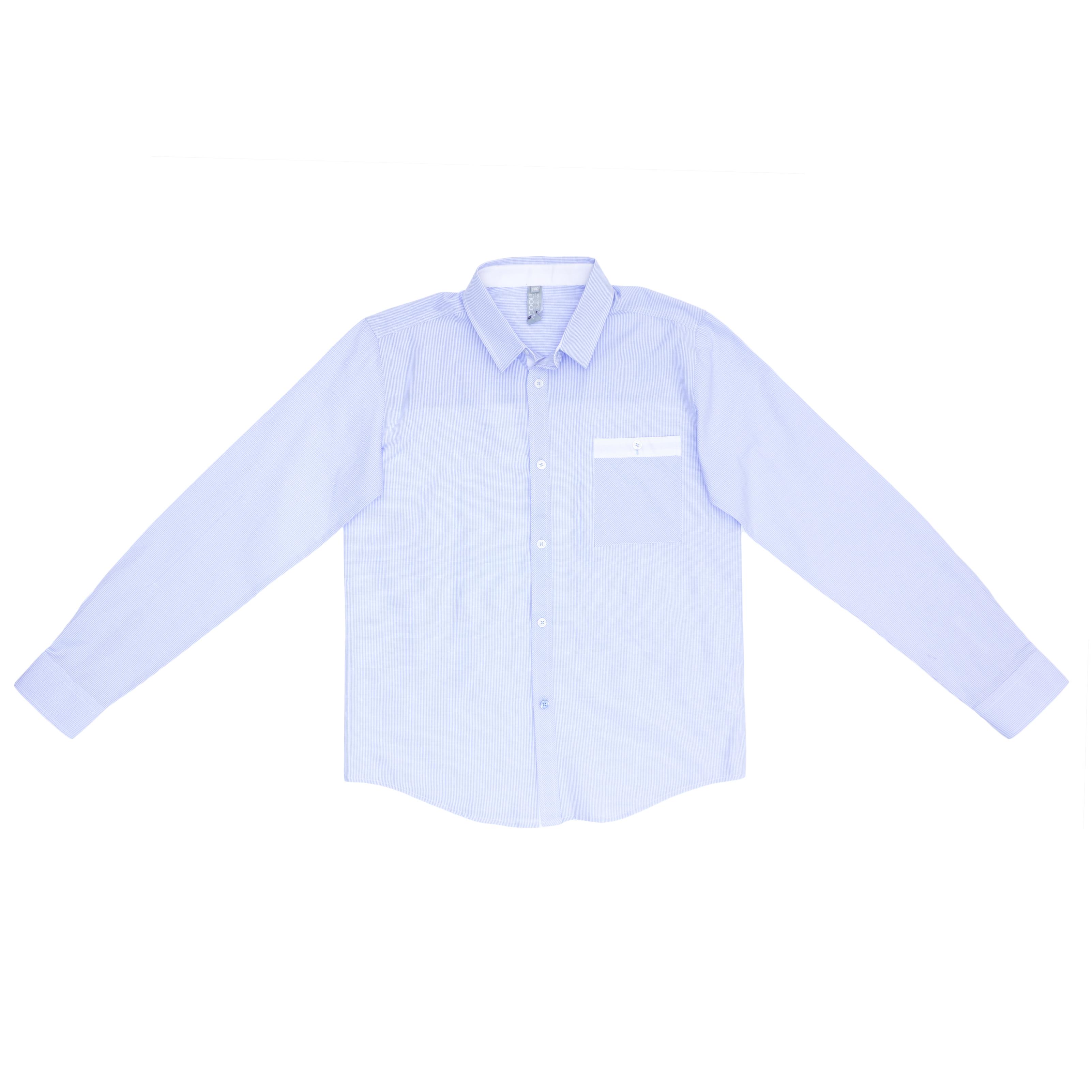 Сорочка  голубая 363031