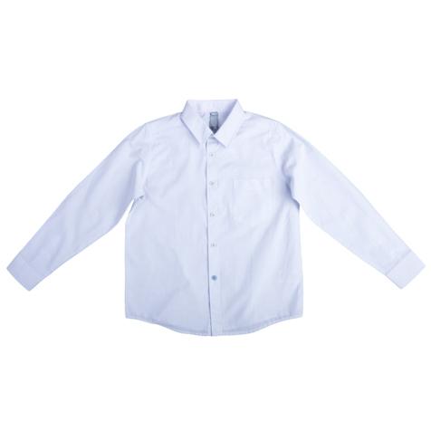 Сорочка белая в полоску 363033