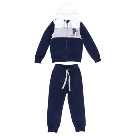 Комплект: толстовка, брюки  темно-синий 363048