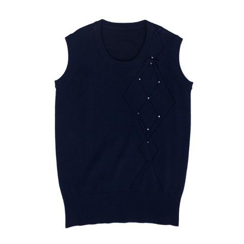 Жилет  темно-синий 364015