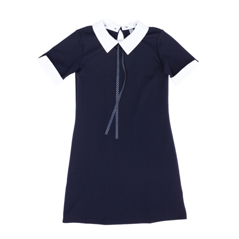 Платье  темно-синее 364054