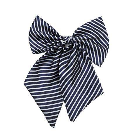 Галстук  темно-синий в полоску 364089