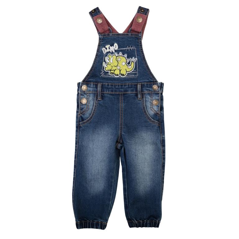 Полукомбинезон джинсовый 367011