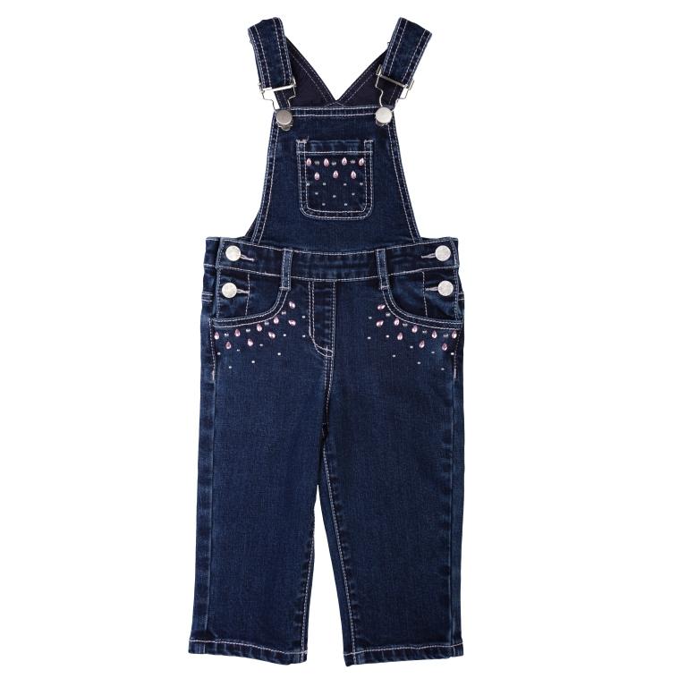 Полукомбинезон джинсовый 368009