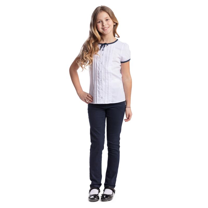 28e3bb11b7f 374462 Белая блузка для девочки S COOL - купить на odevaika.ru