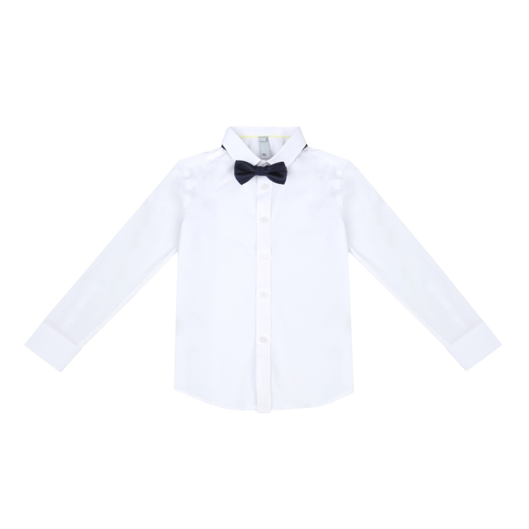 8dbc45a2905 383420 Белая сорочка для мальчика S COOL - купить на odevaika.ru