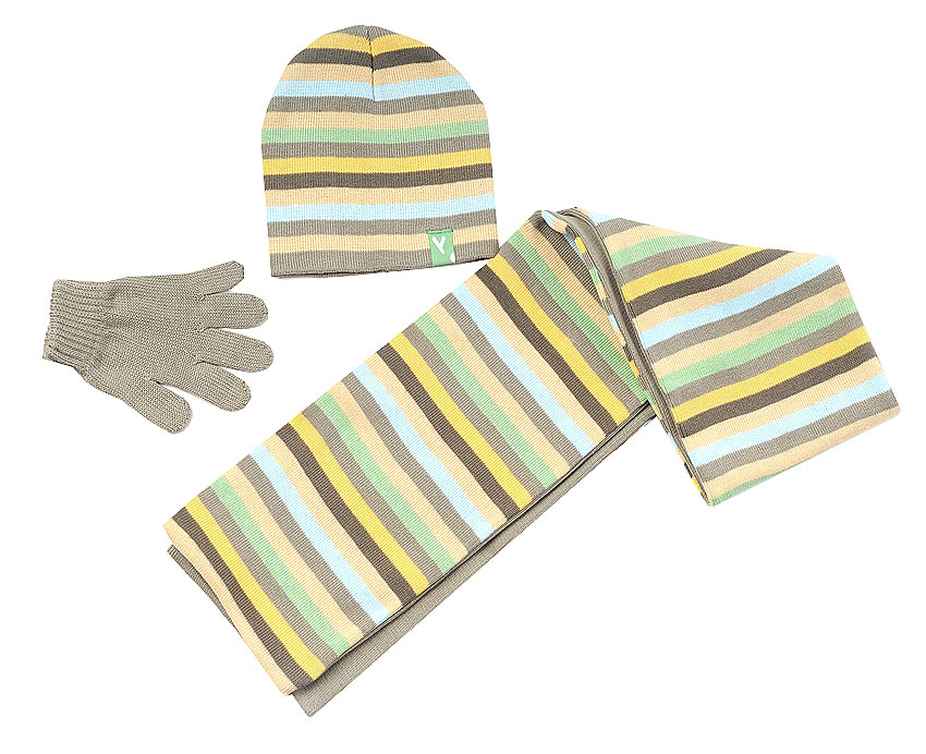 Комплект: шапка, шарф, перчатки для мал. 39137