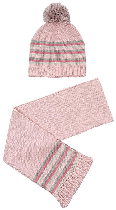 Комплект: шапка, шарф для дев. 39232