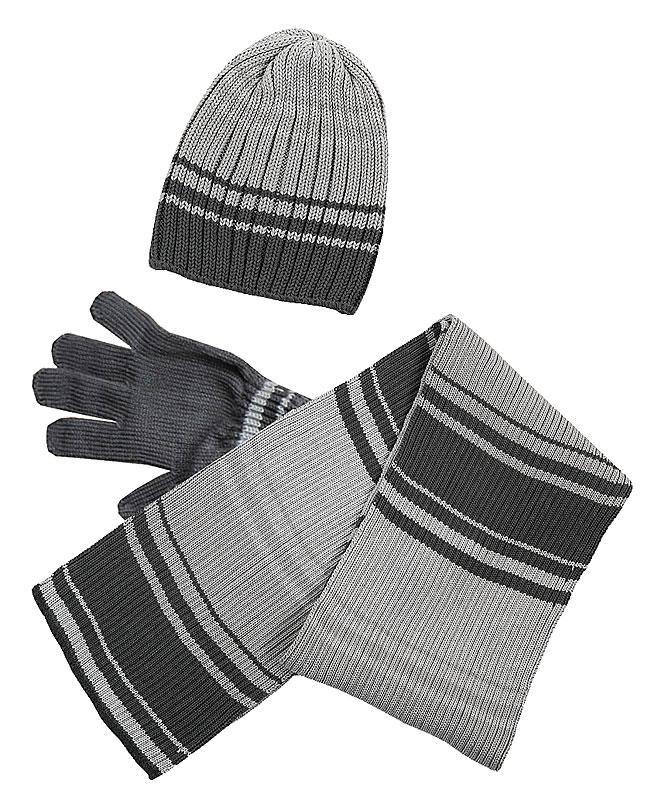 Комплект: шапка, шарф, перчатки для мал. 39332