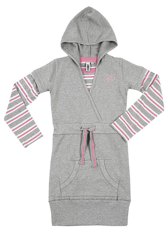 Комплект: платье, футболка для дев. 39439