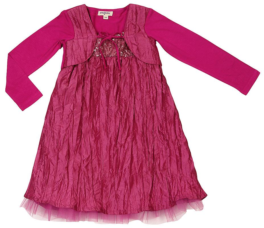 Комплект: платье, балеро для дев.402009 402009