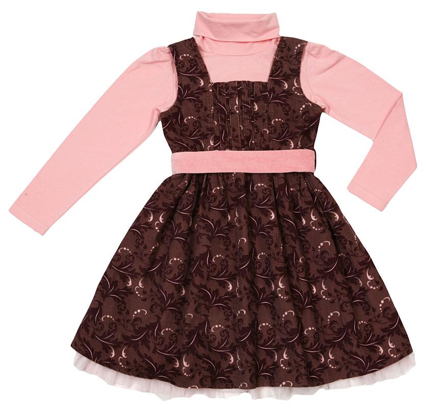 Комплект:платье, водолазка для дев.402021 402021